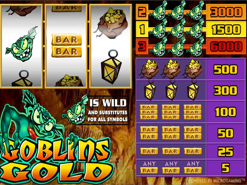 Goblins Gold – Real Casino