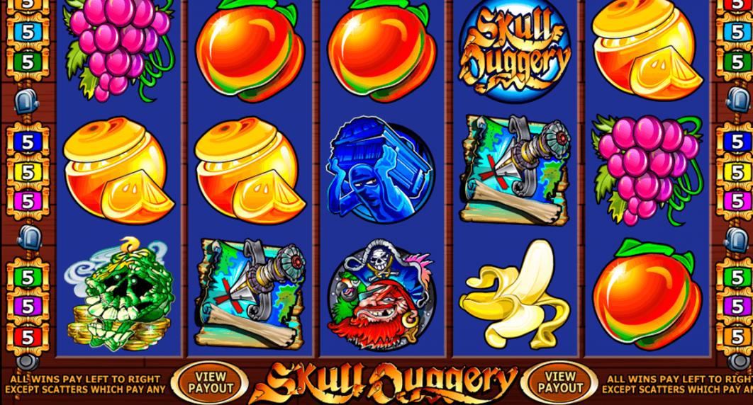 Skull Duggery Casino Slot - Pirates Ride